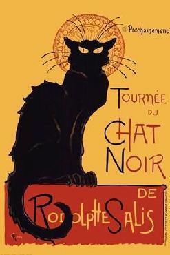 Theophile Alexandre Steinlen Chat Noir