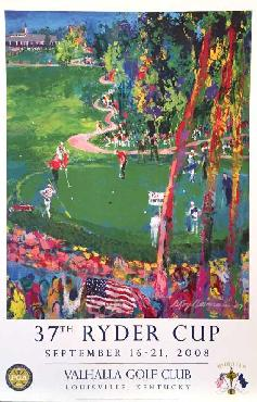LeRoy Neiman 37th Ryder Cup Open Edition on Paper
