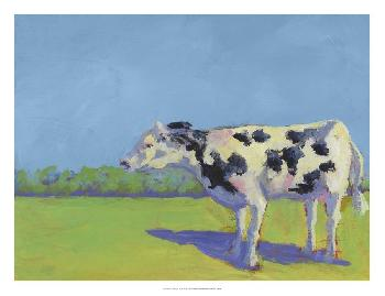 Carol Young Cow Pals III Giclee Canvas