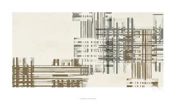 Jennifer Goldberger Matrix Illusion  III Giclee Canvas