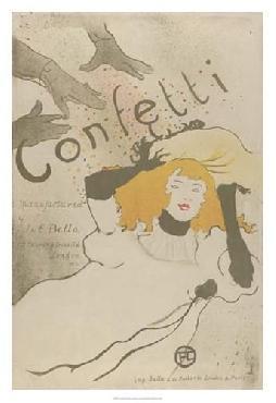 Henri De Toulouse-Lautrec Confetti