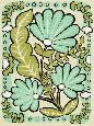 Zarris Gouache Florals III Giclee Canvas