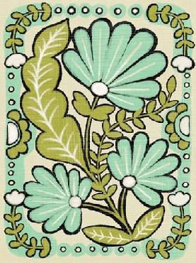Chariklia Zarris Gouache Florals III Giclee Canvas