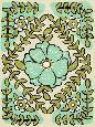Zarris Gouache Florals IV Giclee Canvas