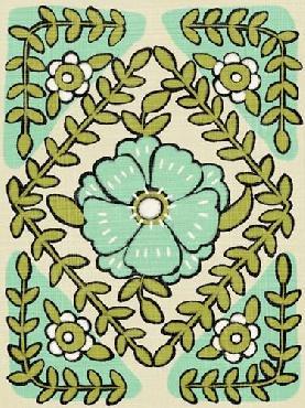 Chariklia Zarris Gouache Florals IV Giclee Canvas