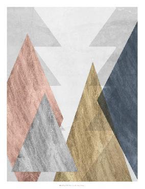 Jennifer Goldberger Peaks II Open Edition Giclee - Gloss