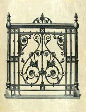 Vision Studio Oversize Gate Of Splendor I Hand Colored
