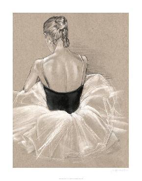 Jennifer Paxton Parker Ballet Study II Limited Edition Giclee