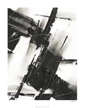 Ethan Harper Diagonal Matrix I Giclee Canvas
