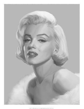 Chris Consani True Blue Marilyn Giclee Canvas