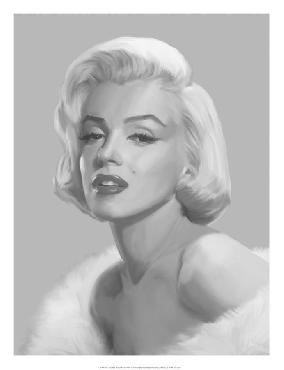 Chris Consani True Blue Marilyn Open Edition Giclee - Gloss