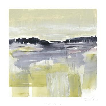 Jennifer Goldberger Violet & Olive Field II Limited Edition Giclee