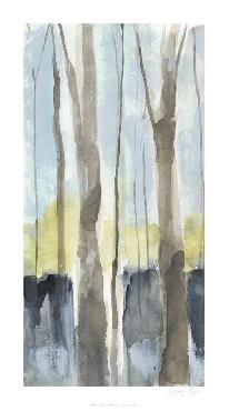 Jennifer Goldberger Treeline Diptych I Limited Edition Giclee