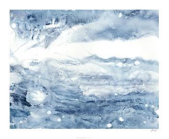 Ethan Harper Indigo Tides III Giclee Canvas