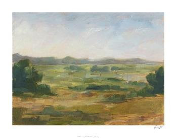 Ethan Harper Green Valley IV Giclee Canvas
