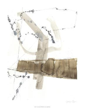 Jennifer Goldberger Umber Connection II Limited Edition Giclee