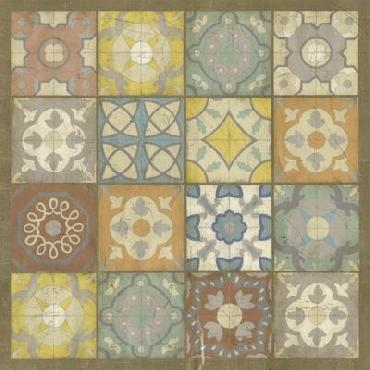 Chariklia Zarris Barcelona Tiles I Giclee Canvas