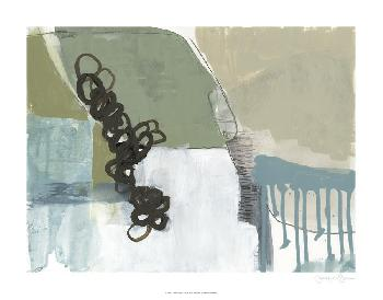 Jennifer Goldberger Umber Links I Limited Edition Giclee
