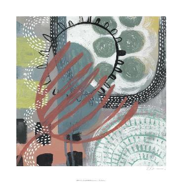 Chariklia Zarris Ticker Tape IV Limited Edition Giclee