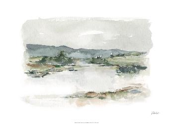 Ethan Harper Overcast Lake Study I Limited Edition Giclee