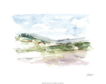 Ethan Harper Spring Watercolor Sketch I Limited Edition Giclee