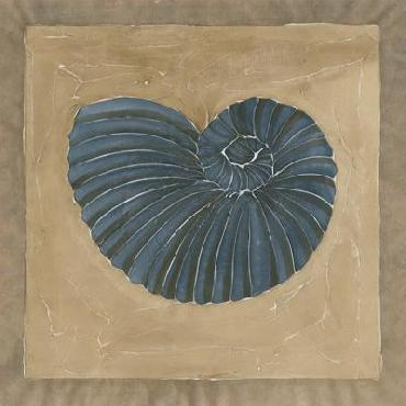 Chariklia Zarris Sandy Shore III Giclee on Canvas