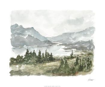 Ethan Harper Overcast Reservoir I Limited Edition Giclee