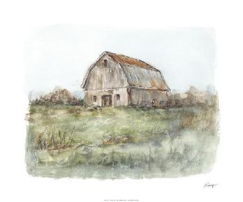 Ethan Harper Tin Roof Barn II Limited Edition Giclee