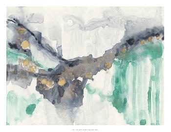 Jennifer Goldberger Viridian Canyon I Open Edition Giclee - Matte