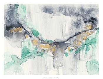 Jennifer Goldberger Viridian Canyon II Open Edition Giclee - Matte