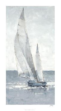 Ethan Harper Grey Seas I Giclee Canvas