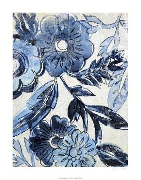 Chariklia Zarris Indigo Porcelain I Limited Edition Giclee