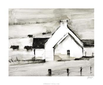 Ethan Harper English Farmhouse I Limited Edition Giclee