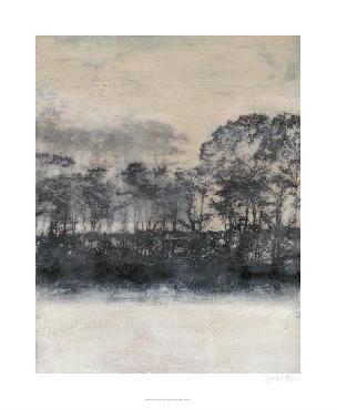 Jennifer Goldberger Blush Treeline I Giclee Canvas