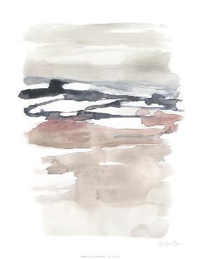 Jennifer Goldberger Tiered Horizon Line II Limited Edition Giclee