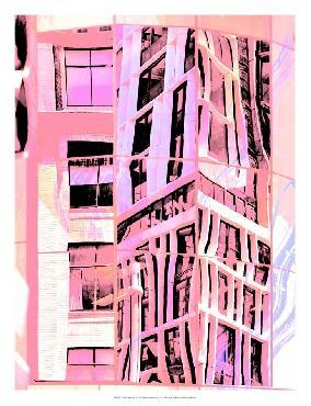 Eva Bane Urban Pastels II Giclee Canvas