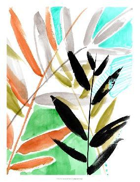 Jennifer Goldberger Vivid Fronds I Open Edition Giclee - Matte
