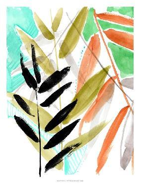 Jennifer Goldberger Vivid Fronds II Open Edition Giclee - Matte