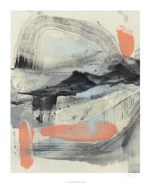 Jennifer Goldberger Twisting Range II Limited Edition Giclee