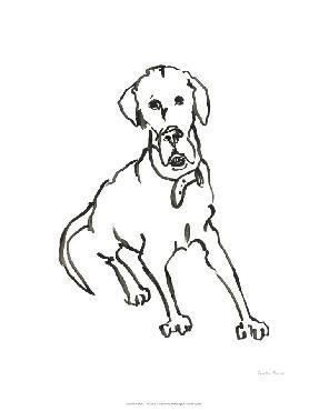 Vanessa Binder Wag: The Dog I Limited Edition Giclee