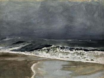 Victoria Barnes Moody Sea I Limited Edition Giclee