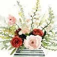 Barnes Splashy Bouquet I Limited Edition Giclee