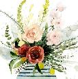Barnes Splashy Bouquet II Limited Edition Giclee