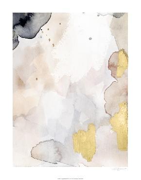 Victoria Barnes Indigo Blush And Gold I Embellished