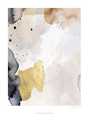 Victoria Barnes Indigo Blush And Gold III Embellished