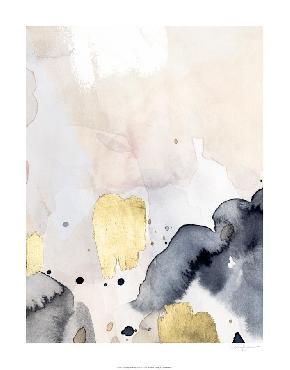 Victoria Barnes Indigo Blush And Gold IV Embellished