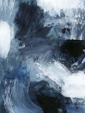 Victoria Barnes Composition In Blue III Limited Edition Giclee