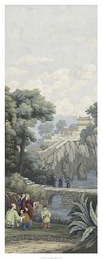 Paul Montgomery Ancient China I Giclee Canvas