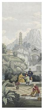 Paul Montgomery Ancient China II Giclee Canvas