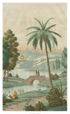 Paul Montgomery Palm Paysage II Giclee Canvas